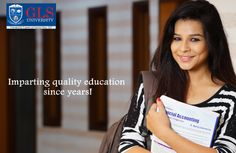 #GLSUniversity  Imparting #quality #education since years.