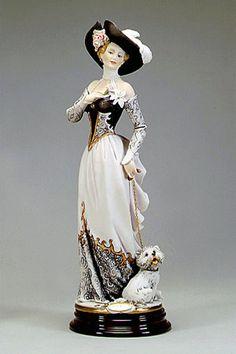 "Giuseppe Armani ""Christine"" figurine with Westie"