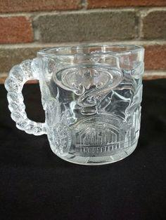 "Batman Forever ""Two Face"" Glass Mug 1995 McDonalds Tommy Lee Jones   Collectibles, Advertising, Restaurants & Fast Food   eBay!"