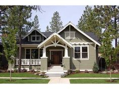 Craftsman Home + a ramp and this home is my dream home