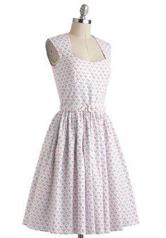 Little Hearts on the Prairie Dress, #ModCloth