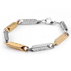 Tiger Totem free shipping New Luxury Trendy Charm Chain Bracelets for charms Women men Titanium stainless Steel fashion Jewelry