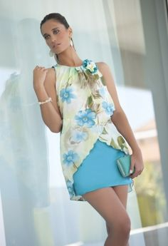 4799, Moncho Heredia Diy Shirt, Stylish Dresses, Blouse Designs, High Neck Dress, Rompers, Corsage, Minis, Womens Fashion, How To Wear