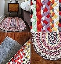 Diy rugs to brighten up your home shirt quilt, hobbies and crafts, fun craf Hobbies And Crafts, Kids Crafts, Diy And Crafts, Easy Crafts, Braided Rug Tutorial, Tapetes Diy, Braided T Shirts, Rope Rug, Diy Braids