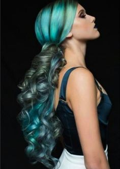 Gorgeous color and style by Pravana 2014 Show Us Your VIVIDS Winner, Maria Santana! ChromaSilk, VIVIDS and PASTELS were used to create this beautiful color design. HOT Beauty Magazine fb.com/hotbeautymagazine.com