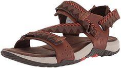 3cc29ce22cfce Merrell Men's Terrant Convert Open Toe Sandals, Brown (Br... amazon.co.uk