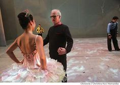 Helgi Thomasson and (?) Frances Chung at SF Ballet