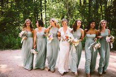 Best friends Olive Green Bridesmaid Dresses, Dessy Bridesmaid, Beach Bridesmaid Dresses, Wedding Bridesmaids, Olive Green Weddings, Olive Wedding, Tan Wedding, Wedding Goals, Wedding Attire