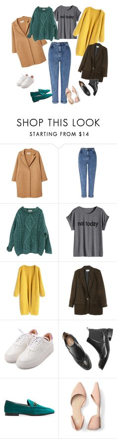 """Mom jeans"" by olgaut on Polyvore featuring мода, MANGO, Miss Selfridge, Essentiel, Chicwish и Gucci"