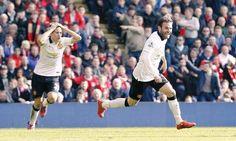 Herrera reaction to Juan Mata goal.
