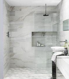Legato™ and Hexmix™ Carrara Mosaic