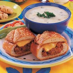"""Cheeseburger Loaf - """"I sometimes use spaghetti sauce and mozzarella cheese or picante sauce with Monterey Jack cheese to vary the taste."""""""