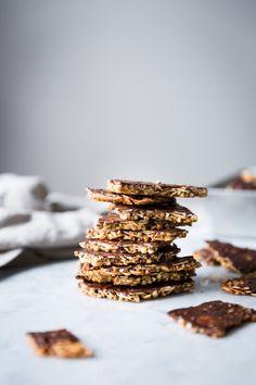 Almond Buckwheat Chocolate Brittle (Vegan + Gluten-Free) - BAKED