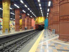 Portugal tem uma das estações de metro mais bonitas do Mundo > TVI24