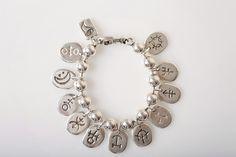 Ciclon Silver Ball Bracelet - £35