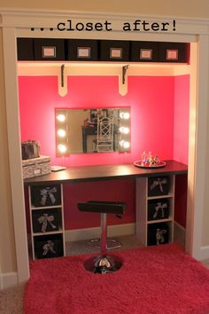 Makeup Room Ideas room DIY (Makeup room decor) Makeup Storage Ideas For Small Space - Tags: makeup room ideas, makeup room decor, makeup room furniture, makeup room design My New Room, My Room, Spare Room, Girls Bedroom, Bedroom Decor, Bedroom Ideas, Master Bedroom, Funky Bedroom, Ikea Bedroom Design