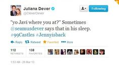 I'm glad that Juliana knows how much of a bromance her husband has with Jon Huertas. it just makes it more perfect :)
