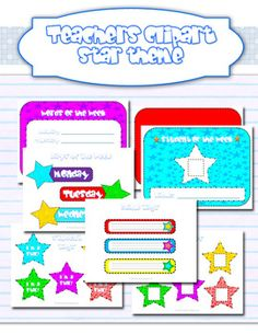 Stars Classroom Theme