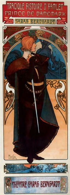 Alphonse Mucha, Hamlet