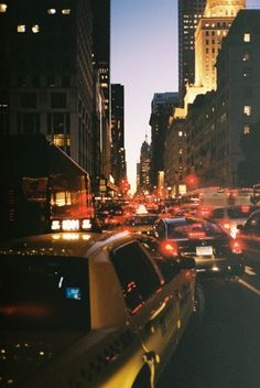 NYC. Getting stuck in a traffic jam.  Not all could be perfect.