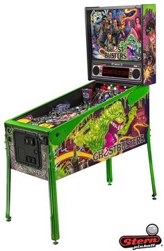 Limited edition Ghostbusters Pinball. Played it 6/30/17 at Center point Brewery.