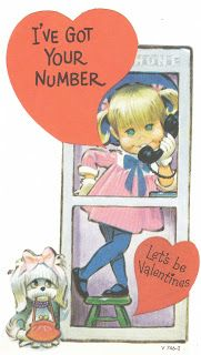 View from the Birdhouse: Vintage Valentines - Pete Hawley Illustrations