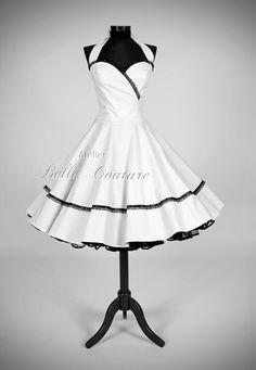 "Petticoat Brautkleid ""Nathalie White"""