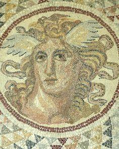Medusa Mosaic Detail by RBerteig, via Flickr