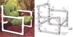 pvc pipe patio furniture plans