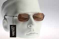 2f110027b4b2 Jean Paul Gaultier 55-0011 Vintage eyeglasses by CarettaVintage Clip On  Sunglasses