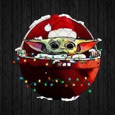 Star Wars Christmas, Christmas Mood, Christmas Baby, Christmas Wishes, Xmas Wallpaper, Star Wars Wallpaper, Yoda Images, My Images, Christmas Drawing
