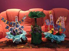 Diy Frozen themed centerpieces