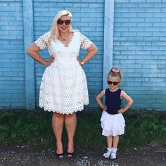 #MiniMeOOTD ☄ Blue Skies ☄my dress is from @veryuk and Darcy's bits are last years (yay for still fitting in lots of stuff). Co-ordinating with this kiddo is my favourite!