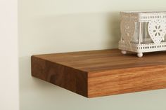 Our oak floating shelves are made from the same beautiful European timber as our wooden worktops.