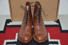 Julian Made in USA Bedford Brown Leather Ankle Boots RRL Bowery #JulianBoots #AnkleBoots