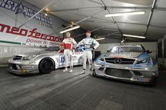 The Official Mercedes C63 AMG of Vitantonio Liuzzi and Thomas Biagi