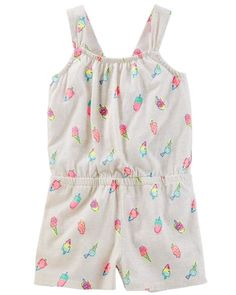 30e60a1c54 Baby Girl Bow Back Romper from OshKosh B gosh. Shop clothing  amp   accessories