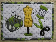 Quilting: Stitching Stuff Mug Rug