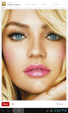 63 Ideas for wedding makeup for blondes make up lip colors Makeup Tips, Beauty Makeup, Hair Makeup, Hair Beauty, Makeup Ideas, Prom Makeup, Makeup Style, Makeup Tutorials, Makeup Inspiration