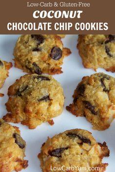 Coconut Chocolate Chip Cookies – Gluten Free