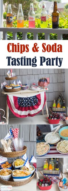 For your next get-together, throw a gourmet chips and specialty soda tasting party. Your guests will enjoy the salty-sweet menu, and everyone will love weighing in on their favorite snacks and beverages. Click here for a menu and serving ideas.
