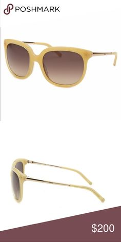 NWB Chloe Square Honey Sunglasses CE642S-771-55 New with box. Authentic Chloe. Chloe Accessories Sunglasses