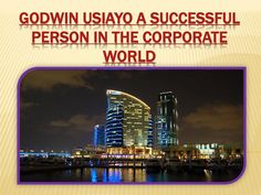 Godwin usiayo a successful person in the corporate world  A great number of people in an administration based business get into the company because they need to help other people. They need to have any effect. Numerous don't view themselves as a sales representative. Frequently, deal is a terrible word leaving a yucky feeling for administration experts.  However, you may be shocked at what makes Godwin Usiayo fruitful at deals. It isn't the capacity to appeal others. It isn't having all the…