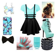 """""""Blue Illusion"""" by hazel2002 ❤ liked on Polyvore"""