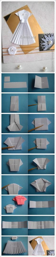 Indulgy - Everyone deserves a perfect world! Origami And Quilling, Origami And Kirigami, Origami Folding, Paper Crafts Origami, Paper Folding, Diy Paper, Oragami, Origami Instructions Step By Step, Origami Tutorial