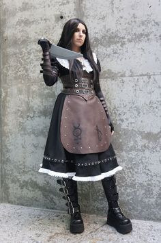 Character: Alice Variation: Steamdress Series: Alice: Madness Returns Event: Fanime 2012 Photographer: Eurobeat King Cosplayer: Full shot of my dress. I'm quite happy with it, there's only a few th...