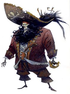 LeChuck by Steve Purcell