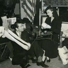 Sir Lawrence Olivier and Vivien Leigh