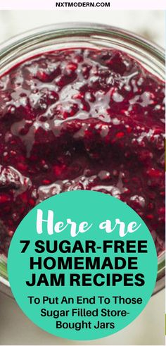 Store-Bought Jam is Laiden with Sugar. Here are 7 Sugar-Free Recipes Here are 7 Sugar-Free Homemade Jam Recipes The post Store-Bought Jam is Laiden with Sugar. Here are 7 Sugar-Free Recipes & Glow Habits Posts appeared first on Homemade jam . Sugar Free Fruits, Sugar Free Desserts, Sugar Free Recipes, Sugar Free Jelly Recipe, Sugar Free Jam, Sugar Free Apricot Jam Recipe, Sugar Sugar, Sugar Free Strawberry Jam, Apricot Jam Recipes