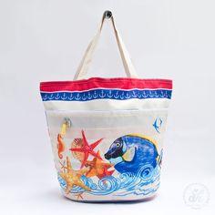 Bolso playero - Peces marino